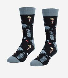 Raccoons Unisex Large Socks $7.28