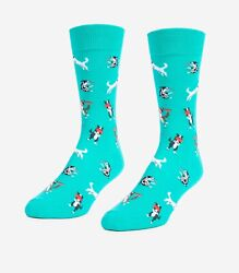 Frisbee Dogs Unisex Large Socks $7.28