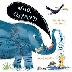 Hello Elephant by Boughton Sam Book The Fast Free Shipping $19.99