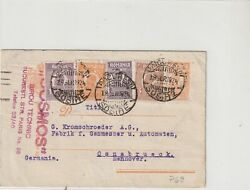 ROMANIA 1924 POSTCARD USED GERMANY COMMERCIAL POST
