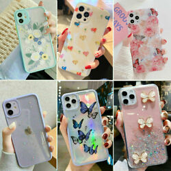 For iPhone 12 11 Pro MAX XR 7 8 Plus Case Glitter Shockproof Bumper Hybrid Cover $7.89