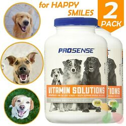 Dog Multi Vitamins All Life Stages Dogs Health Care Chewable Tablets 2x 90 Count $15.60