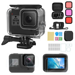 Accessories Kit for GoPro Hero 8 Black Protective Underwater Dive Housing Shell $23.98