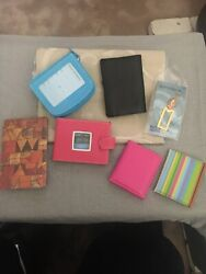 BARNES amp; NOBLE LOT. MINI FRAMES WALLET BOOKMARK LEATHER NOTEBOOK 7 ITEMS NEW $29.99
