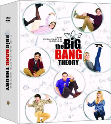 The Big Bang Theory: The Complete Series DVD 2019 37 Discs Season 1 12 $50.99