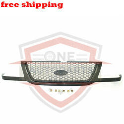 New Grill Grille Assembly Black With Silver Mesh For 01 03 Ford Ranger FO1200395 $66.21