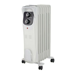 Comfort Zone CZ8008 Electric Oil Filled Radiator Heater $52.99