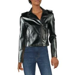 Boundless North Womens Faux Leather Fall Motorcycle Jacket Coat BHFO 0288 $10.99