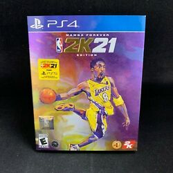 NBA 2K21 Mamba Forever Edition PS4 PlayStation 4 BRAND NEW $119.95