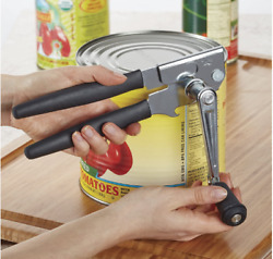Hand Crank Can Opener Large Commercial Steel Manual Heavy Duty Restaurant