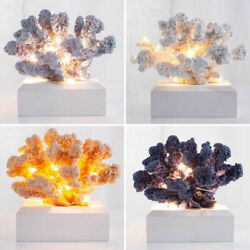 Coral Night Light Romantic Table Desk Bedside LED Lamp Starry Home Decor Gift US $23.99