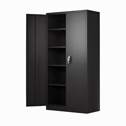 L Shaped Corner Desk Steel Computer Gaming Desk Wood Workstation PC Laptop $135.99