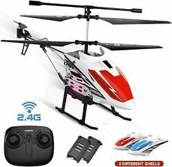 DE51 Remote Control Helicopter RC Helicopters Gyro 2 Battery 2 Shell Auto Hover $25.64