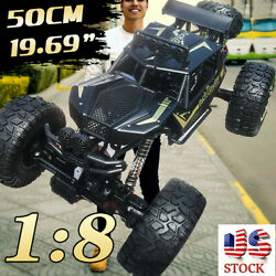 50CM 2.4G 1 8 RC Monster Truck Car Off Road Vehicle Remote Control Crawler Toy $54.98