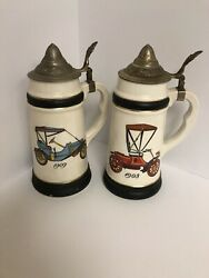 Beer Mugs Vintage Collectibles Lot Of 2 $30.00