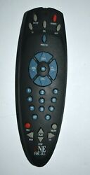 One For All Universal Remote Large Buttons Black Tested and Working Used $10.00