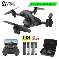 Holy Stone HS165 GPS FPV Drones with 2K FHD Camera Foldable Quadcopter Follow Me $119.99