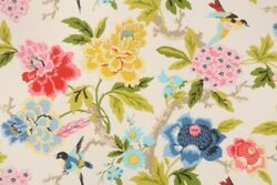 Waverly Fabric Candid Moment Garden cotton duck by the yard $12.88