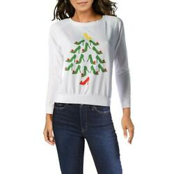 Prince Peter Womens Christmas Pull Over Tee Graphic T Shirt Top BHFO 3909 $14.99