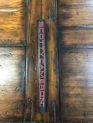 New Titleist Scotty Cameron Black With Red Matador Mid Size Putter Grip $45.00