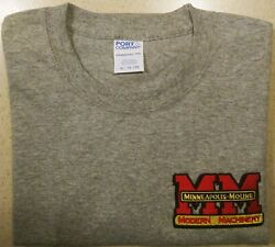 Minneapolis Moline Embroidered Mens 100% Cotton S S T shirt 2 colors $12.00