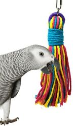 50061 Big Weave Bird Toy parrot cage toys cages preening conure african grey pet $10.99