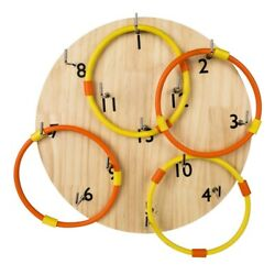 Hookey Ring Toss Game Safer Than Darts Funny Outdoor Games Toy for Family Home $27.60