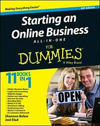 Starting an Online Business All In One for Dummies 4th Edition by Elad Joel $7.69