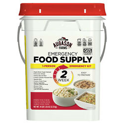 2 Week Emergency Food Supply Pail Storage 140 Servings Survival Ration Bucket $69.45