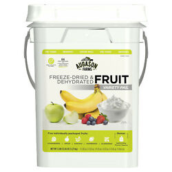 AUGASON FARMS Freeze Dried Fruit Emergency Food Storage Survival Prep 4gal Pail $88.04