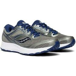 Saucony Versafoam Cohesion12 mens running shoes Gray Silver S20471 1 Size 10 14 $49.99
