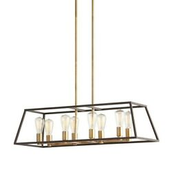 Artika Hanging Chandelier Gold amp; Black $99.97