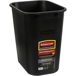 NEW Rubbermaid Commercial Products 7g Wastebasket Rolled rims amp; Easy to Handle