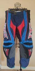 Fox 360 Racing BMX Motorcycle Padded Motocross Flight Pants Pre Owned Size 36  $70.00