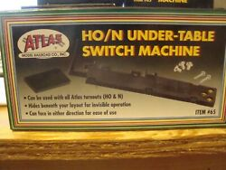 N Scale Atlas # 65 HO N Scale Under Table Switch Machine NEW $9.88