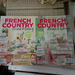FRENCH COUNTRY HOME amp; LIVING 2 Issues $12.99