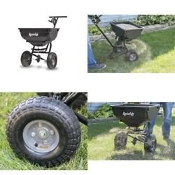 Pull Behind Spreader Lawn Fertilizer Broadcast Hopper Seed Atv Lawn Tractor Ice $110.99