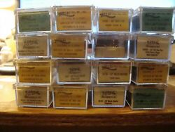 MORE BOX CARS EVERYWHERE N Scale Atlas 16 different All w MTL#x27;s $8.99