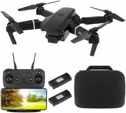 Foldable FPV WiFi Drone Quadcopter with Dual 4K Camera Wide Angle Gravity Sensor $56.99