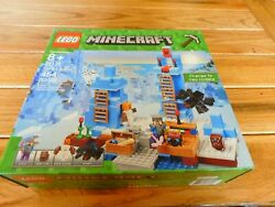 LEGO MINECRAFT SET 21131 THE ICE SPIKES NEW IN BOX SEALED RETIRED $149.95