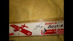 carl goldberg model airplane kits new old stock Buster CL kit $89.00