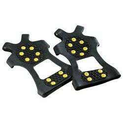 Hiking Crampons Step Ice Spikes Grips Non slip Snow Cleats Shoes Boots Cover $8.59