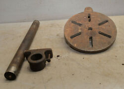 Antique Post Drill table parts post collectible blacksmith metal working tool $99.99