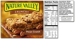 Nature Valley Crunchy Pecan Crunch Granola Bars $11.95