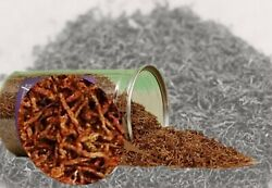 Freeze Dried Blood Insects Red Worms Fish Food Aquarium Feed Tank Pond Tropical $24.99