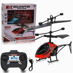 Remote Control Mini Helicopter Kids Toy Gift Infrared Induction Flying Outdoor $9.99