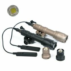 Tactical M600C Scout Light Rifle Flashlight LED Hunting with Tail Switch $38.99