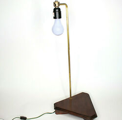 Vintage Mid Century Wood Table Lamp for Display 26quot; 2 Way 150 W $18.94