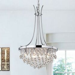 Aubriet 5 Light Crystal Chandelier $119.99