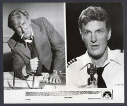 Lloyd Bridges amp; Robert Stack AIRPLANE Vintage Orig Photo $19.95
